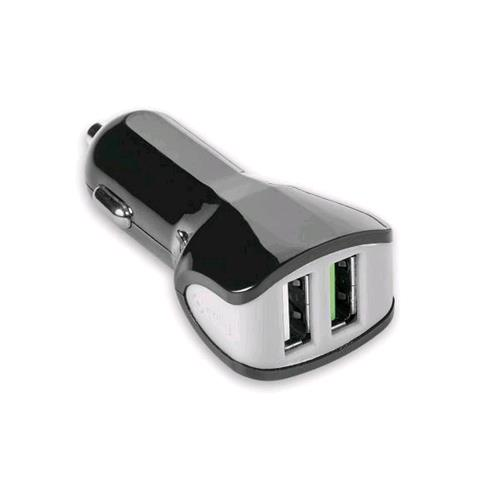CELLY TURBO CAR CHARGHER CARICABATTERIE DA AUTO 2 PORTE USB 3.4 A COLORE NERO CELLY 8021735727859