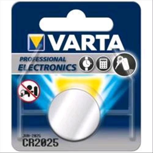 VARTA CR 2025 BATTERIA A BOTTONE SERIE PROFESSIONAL VARTA 4008496276875