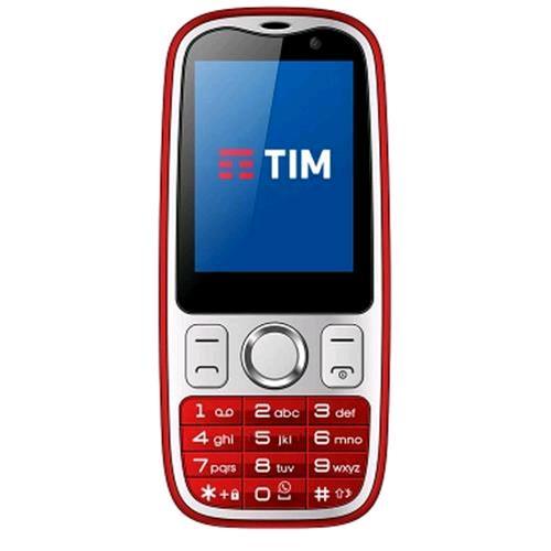 "TIM EASY 4G 2.4"" 4G LTE WHATSAPP INTEGRATO TIM RED"