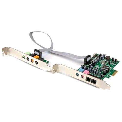 STARTECH SCHEDA AUDIO INTERNA PCIE SURROUND 7.1 CANALI 24-BIT STARTECH 0065030860376