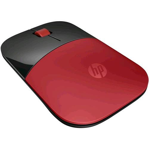 HP Z3700 MOUSE WIRELESS OTTICO 1200 DPI NERO ROSSO HP 0889894813190