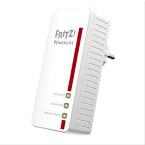 AVM FRITZ POWERLINE 540E SET INTERNET ADATTATORE WI-FI RETE ELETTRICA AVM 4023125026843