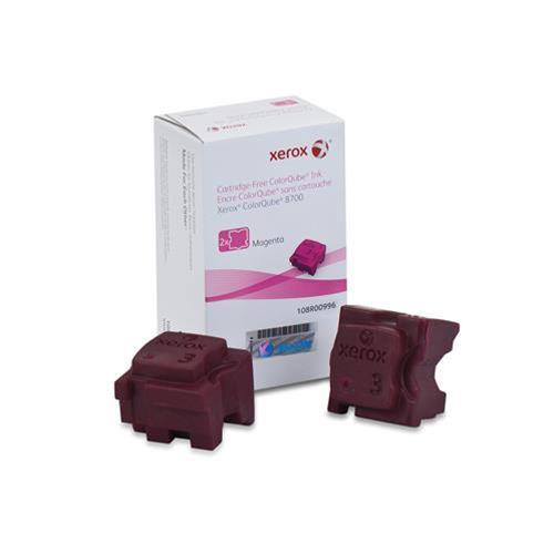 XEROX 108R00996 PACK 2 X INCHIOSTRO SOLIDO MAGENTA PER COLORQUBE 8700 4.200PG XEROX 0095205856200