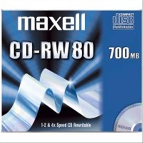 MAXELL 624860 10xCD-RW 700MB MAXELL 4902580345792