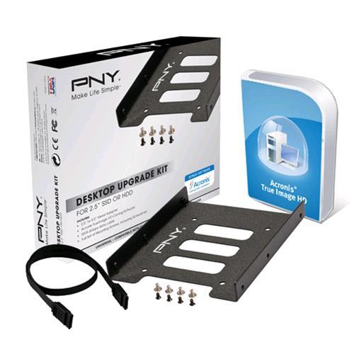 """PNY P-72002535-M-KIT SUPPORTO PER SSD/HDD DA 2.5"""" PNY 0751492546452"""