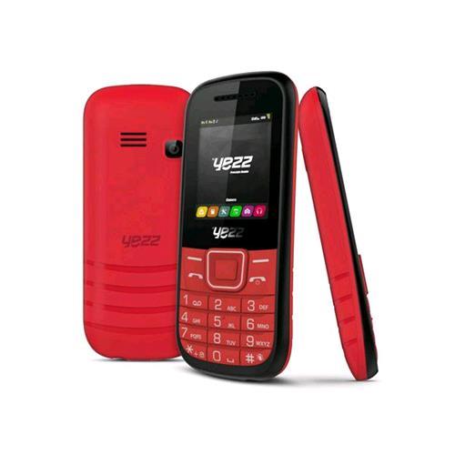 YEZZ CLASSIC C21A DUAL SIM RADIO FM BLUETOOTH FOTOCAMERA ITALIA RED
