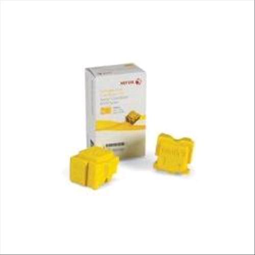 XEROX 108R00933 PACK 2 X COLORSTIX GIALLO PER COLORQUBE 8570 XEROX 0095205761238