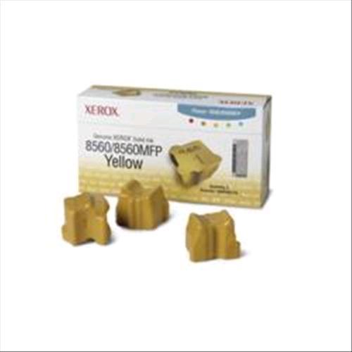 XEROX 108R00725 3 STICK INCHIOSTRO SOLIDO GIALLO PER 8560-8560MFP 3.400PG XEROX 0095205427509