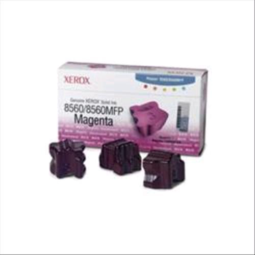 XEROX 108R00724 3 STICK INCHIOSTRO SOLIDO MAGENTA PER 8560-8560MFP 3.400PG XEROX 0095205427493
