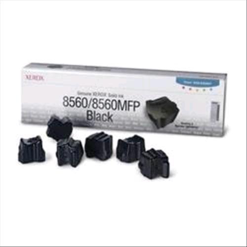 XEROX 108R00727 6 STICK INCHIOSTRO SOLIDO NERO PER 8560-8560MFP 6.800PG XEROX 0095205427523