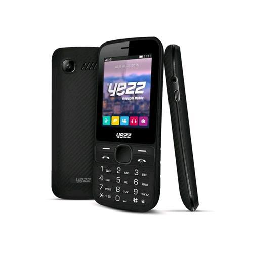 """YEZZ C60 3G MONO SIM 2.4"""" FOTOCAMERA 1.3MPX 3G BLUETOOTH COLORE NERO"""