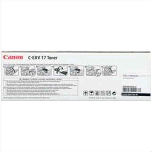 CANON CEXV-17 TONER NERO PER IRC-4580I/4080I 26.000 PAG Canon 4960999351933