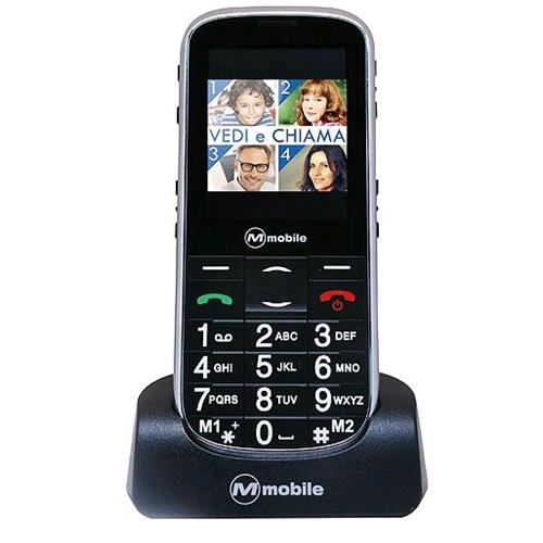 "MEDIACOM FACILE PREMIUM DUAL SIM EASY PHONE 2.4"" TASTI GRANDI RADIO FM TASTO SOS"