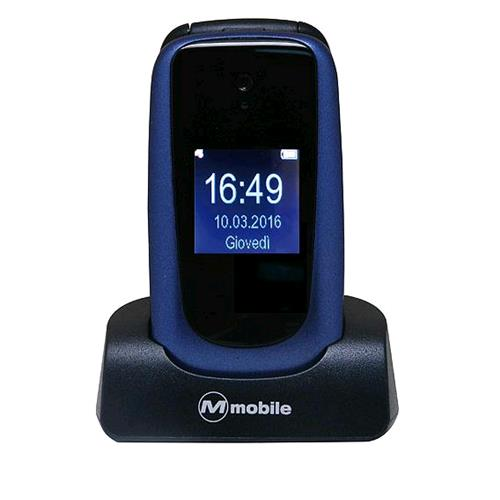 "MEDIACOM FACILE DUO FLIP EASY PHONE 2.4"" CLAMSHELL TASTI GRANDI RADIO FM TASTO S"