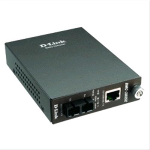 D-LINK DMC-300SC CONVERTITORE DI SEGNALE ETHERNET / FIBRA OTTICA D-Link 0790069241826