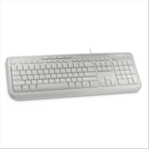 MICROSOFT WIRED KBRD 600 TASTIERA VERSIONE ITALIANA USB BIANCA MICROSOFT 0882224741903
