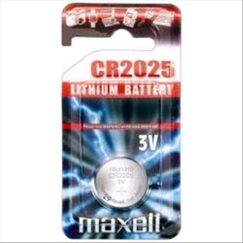 MAXELL CR2025 TIPO L CONF.5 Pz. MAXELL 4902580444877