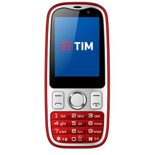 "TIM EASY 4G 2.4"" 4G LTE WHATSAPP INTEGRATO TIM RED"