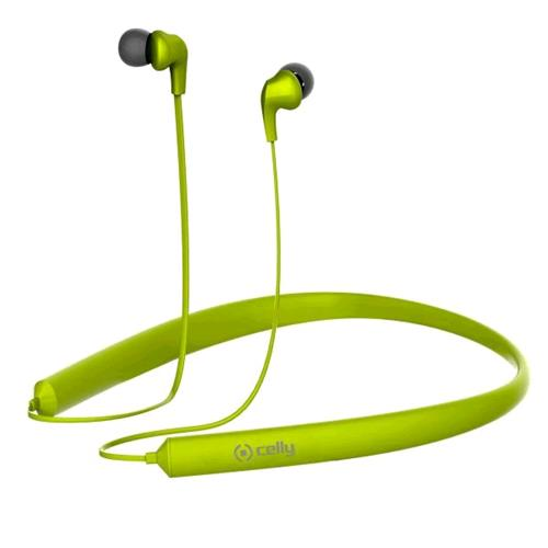 CELLY BH NECK AURICOLARE BLUETOOTH  VERDE