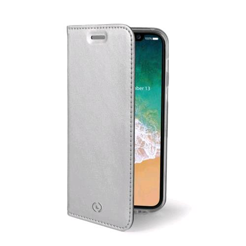 CELLY AIR CASE iPHONE X CUSTODIA AD AGENDA COLORE SILVER CELLY 217600 8021735730972 AIR900SV 7600