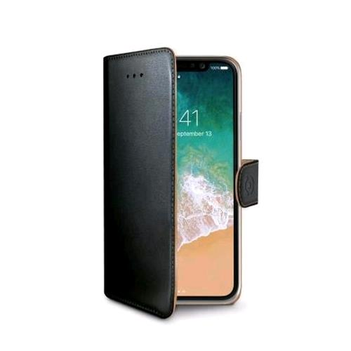 CELLY CELLY WALLY iPHONE X CUSTODIA A PORTAFOGLIO COLORE NERO