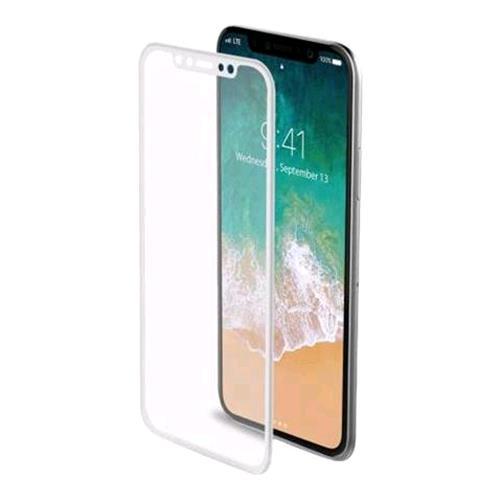 CELLY 3D GLASS iPHONE X PROTEGGI SCHERMO IN VETRO TEMPERATO CELLY 220368 8021735730767 3DGLASS900WH 0368