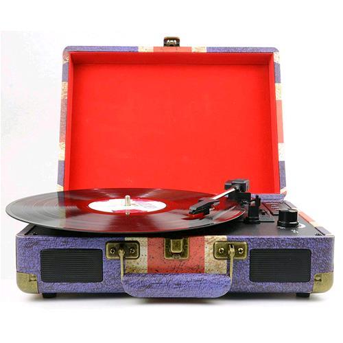 MAJESTIC TT-43 BT/USB/SD/AUX/REC GIRADISCHI VALIGETTA UK VINTAGE MAJESTIC 244574 4574 8002829810343 110543