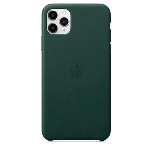APPLE iPHONE 11 PRO MAX COVER IN PELLE COLORE VERDE