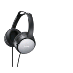 SONY MDR-XD150 CUFFIE A CAVO PER MP3 JACK 3.5MM  BLACK/SILVER
