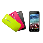 "NGM DYNAMIC RACING 2 DUAL SIM 4.5"" DUAL CORE ANDROID 4.2.2 ITALIA BLACK 3 COVER COLORATE INCLUSE"