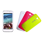 "NGM DYNAMIC RACING 2 DUAL SIM 4.5"" DUAL CORE ANDROID 4.2.2 ITALIA WHITE 3 COVER COLORATE INCLUSE"