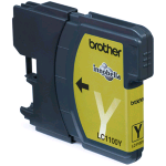 BROTHER LC-1100Y CARTUCCIA GIALLO PER DCP385C/585CW/MFC490CW/790CW/990CW/5490CN/5890CN/6490CW/DCP6690CW 325 PAG