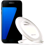 SAMSUNG EP-NG930BWEGWW WIRELESS CHARGER STAND GALAXY S7/S7 EDGE COLORE BIANCO