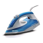 ARIETE STEAM IRON 2000 FERRO DA STIRO A VAPORE 2.000 W 0,25 BIANCO BLU