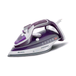 ARIETE STEAM IRON 2200 FERRO DA STIRO A VAPORE/SECCO 2.200W PIASTRA IN CERAMICA VAPORE VERTICALE SERBATOIO 320ML COLORE PURPLE/WHITE