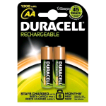 DURACELL AA STAY CHARGED BATTERIA RICARICABILE STILO CONF 2 Pz.