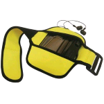 MEDIACOM CUSTODIA BRACCIO MP3 / MP4 WATERPROOF ARMBAND - GIALLO