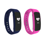 NGM FIT BAND SMARTWATCH FITNESS WATER RESISTANT IP 67 BLUE/PINK