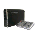MEDIACOM BOX HARD DISK ESTERNO LAN MULTIMEDIALAN DISKLESS INTERFACCE USB 2.0 / AUDIO / ETHERNET / VIDEO COMPOSITO