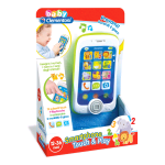 CLEMENTONI BABY SMARTPHONE TOUCH & PLAY (14969)