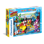 CLEMENTONI DISNEY JUNION: MICKEY AND ROADSTER RACERS PUZZLE 24 MAXI PEZZI