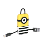 TRIBE KEYLINE JAIL TIME MINION PORTACHIAVI CON CAVO 22CM USB/LIGHTNING