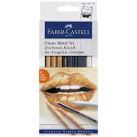 FABER CASTELL GOLDFABER CLASSIC SKETCH SET COLORI ASSORTITI CONF. 6 Pz.