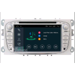 "JF SOUND JF-237FMA AUTORADIO PER FORD DISPLAY 7"" QUAD CORE ANDROID DAB+ BLUETOOTH ARGENTO"