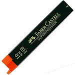 FABER CASTELL SUPER-POLYMERS ASTUCCIO 12 MINE HB 1 mm CONF 12 Pz.