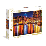 CLEMENTONI AMSTERDAM HIGH QUALITY COLLECTION PUZZLE 500 Pz