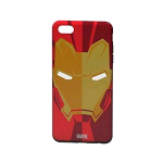 TRIBE iPHONE 7/8 COVER IN TPU IRONMAN COLORE RED/GOLD