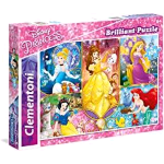 CLEMENTONI DISNEY PRINCESS SUPERCOLOR PUZZLE 104 Pz.