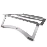 IGLOO GG-100 STAND PORTA NOTEBOOK IN METALLO SILVER