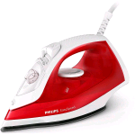 PHILIPS EASY SPEED FERRO DA STIRO A VAPORE 2000 W ROSSO
